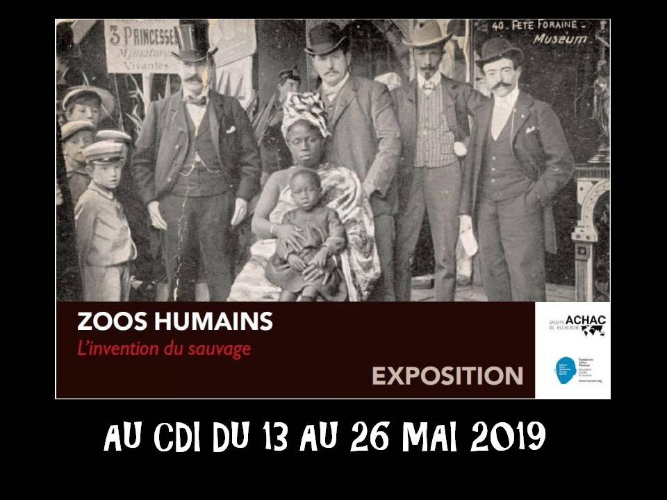 Exposition Zoos Humains